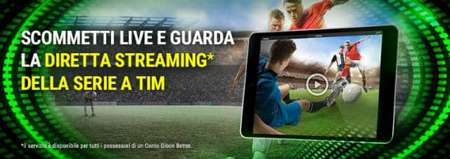 better streaming calcio