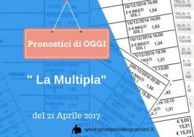 La Multipla Calcio di OGGI 21 aprile 2017