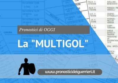 La Scommessa MULTIGOL di OGGI  26 Maggio 2017