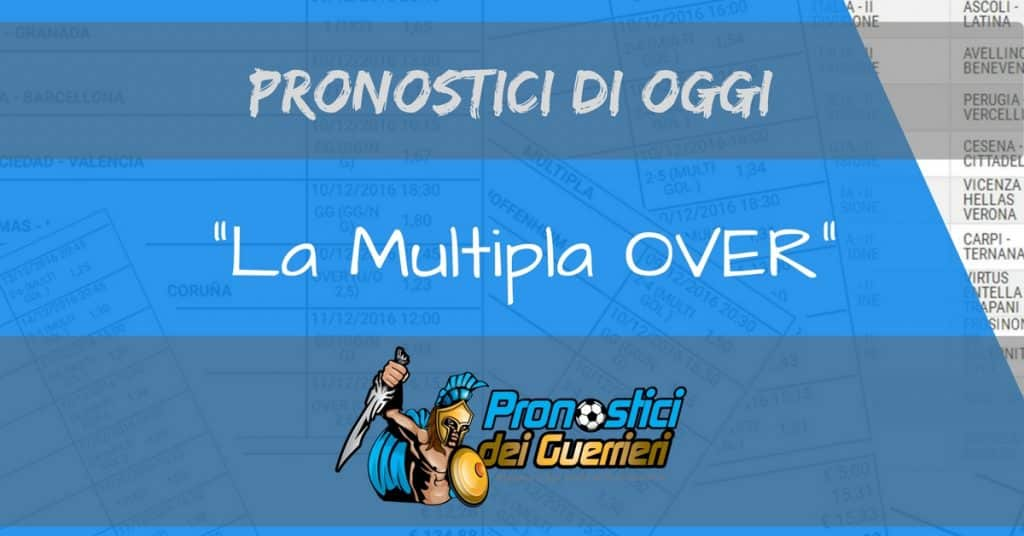 multipla oggi over