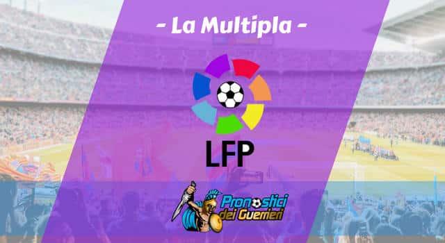 Pronostici Liga 32^ Giornata: La Multipla del 13 e 14 Aprile 2019