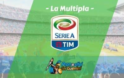 Pronostici Serie A 5^ Giornata: La Multipla del 22 e 23 Settembre 2018