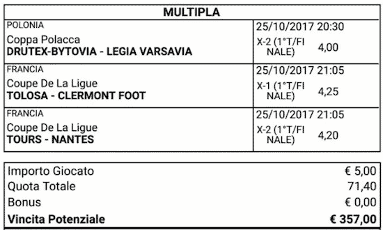 scommessa-multipla-parziali-finali-del-25-ottobre-2017