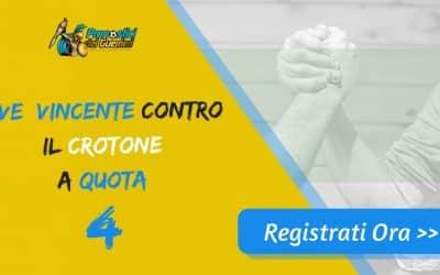 Bonus Serie A: JUVENTUS batte CROTONE a quota 4 (Puntata max 10€)