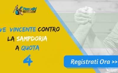 Bonus Serie A: JUVE batte SAMP a quota 4 (Puntata max 10€)