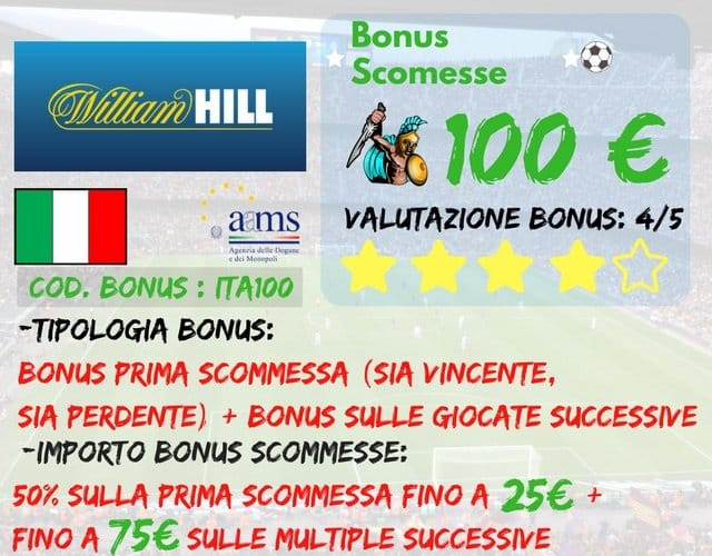 Williamhill-bonus-scommesse