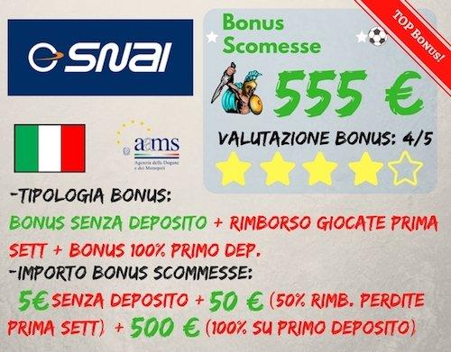 bonus-scommesse-snai