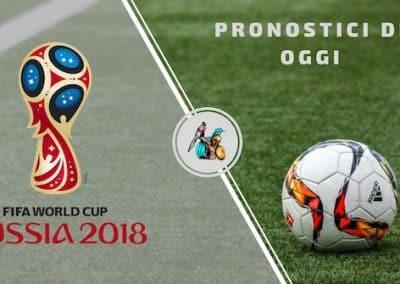 Pronostici Mondiali Russia 2018: La SINGOLA dell' 11 Luglio (Semifinale)