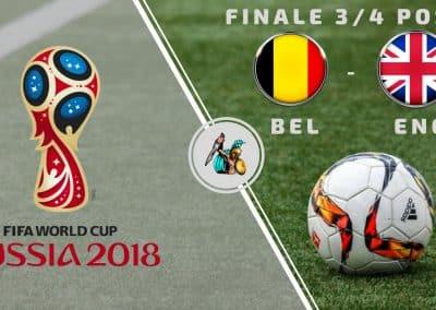 """Pronostici Russia 2018: Belgio- Inghilterra (La """"Finalina"""" del 14 Luglio)"""