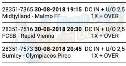 pronostici europa league 30 agosto 2018