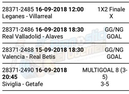 pronostici liga 4 giornata 14 15 settembre 2018