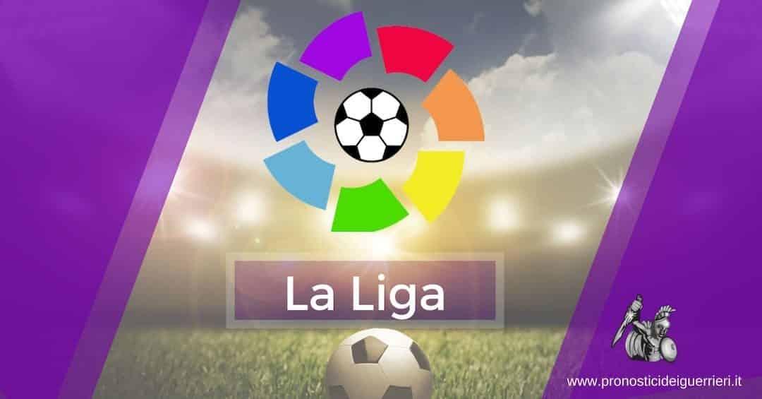 Pronostici Liga 13^ Giornata: La Multipla 9 e 10 novembre 2019