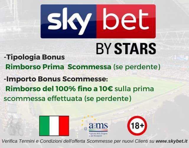 bonus scommesse skybet