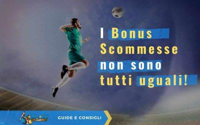 Bonus Scommesse: Migliori Bonus Benvenuto Scommesse di Maggio 2021