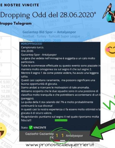 Dropping odd vincente del 28 giugno 2020 canale telegram
