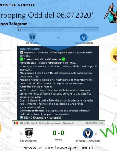 dropping odd vincente del 6 luglio 2020 gruppo telegram