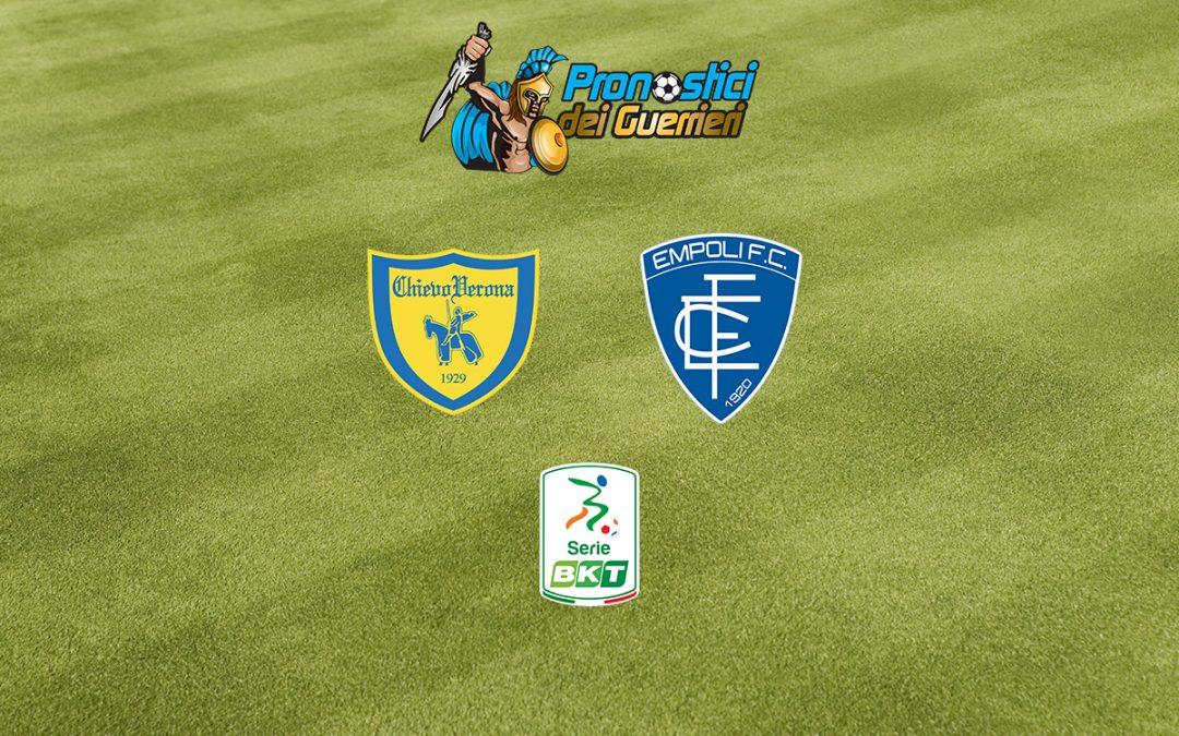 Chievo-Empoli: Pronostico Play Off Serie B (4 Agosto 2020)