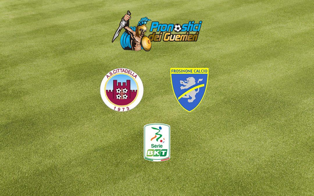 Cittadella-Frosinone: Pronostico Play Off Serie B (5 Agosto 2020)