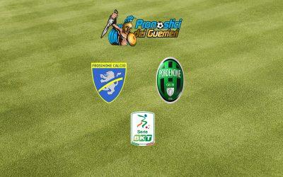 Frosinone-Pordenone: Pronostico Play Off Serie B (9 Agosto 2020)