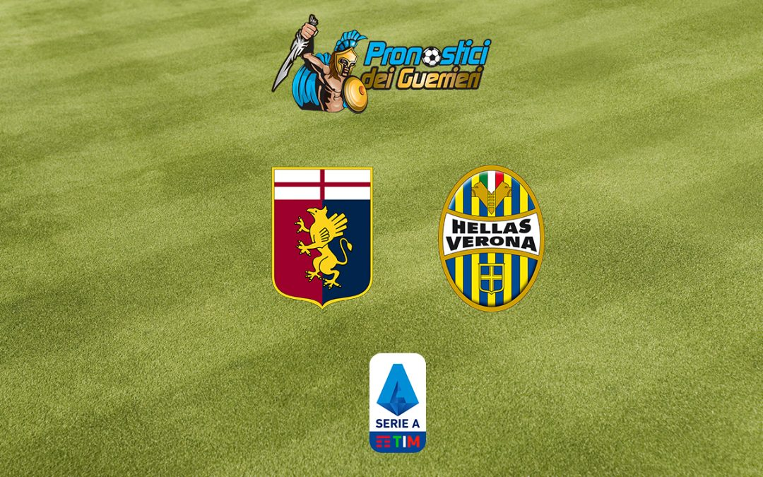 Genoa-Verona: Pronostico 38^ Giornata Serie A (2 Agosto 2020)