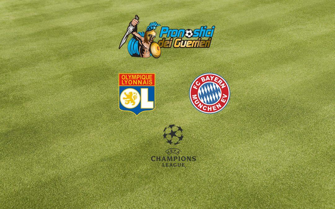 Pronostici Semifinali Champions League: Lione-Bayern Monaco (19.08.20)