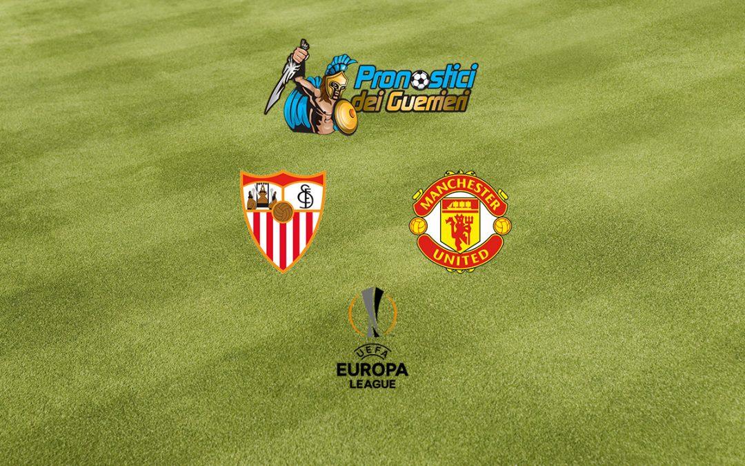 Pronostici Semifinali Europa League: Siviglia-Manchester Utd (16.08.2020)
