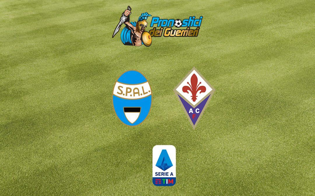 Spal-Fiorentina: Pronostico 38^ Giornata Serie A (2 Agosto 2020)