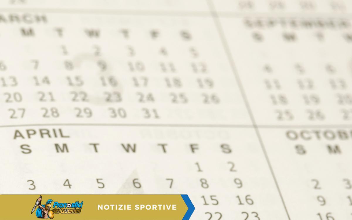 Serie A Ecco Il Calendario Completo Della Stagione 2020 2021