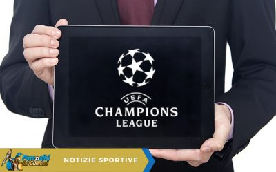 Champions League, 1^ Giornata: dove vedere le partite in tv e streaming