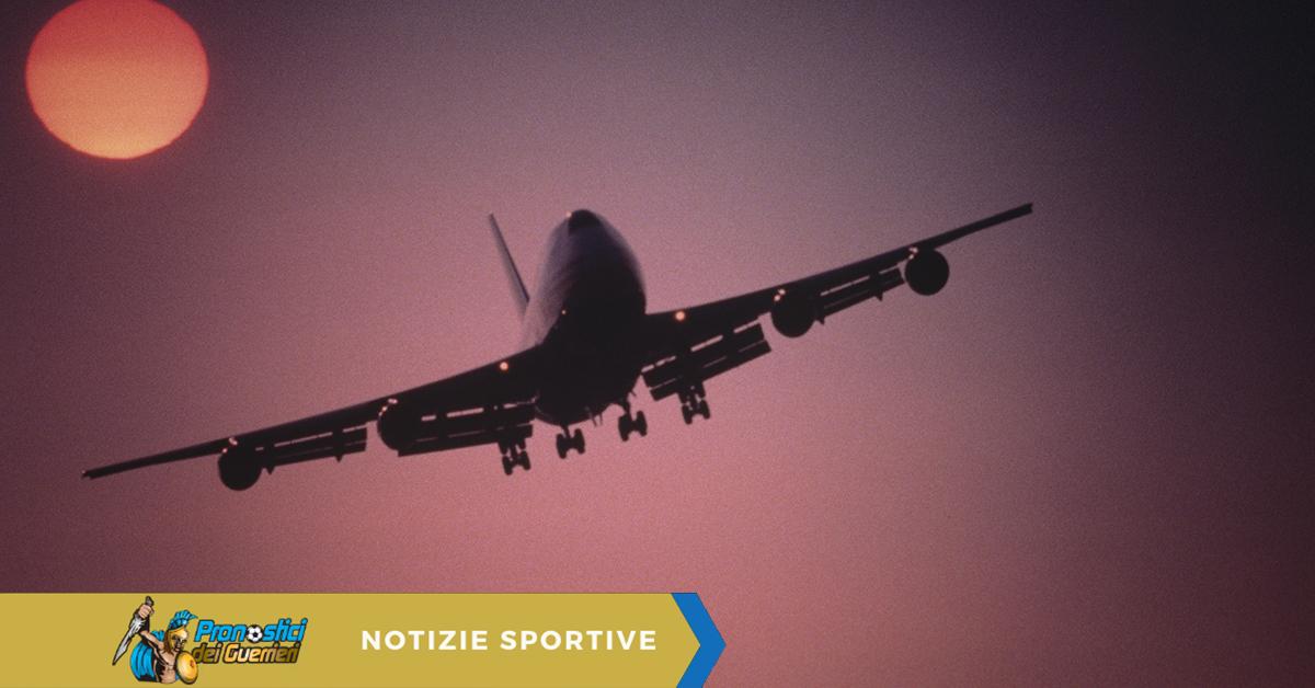 lazio aereo bloccato crotone