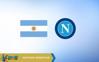 Napoli-Roma, Azzurri stasera in campo con una maglia in stile Argentina