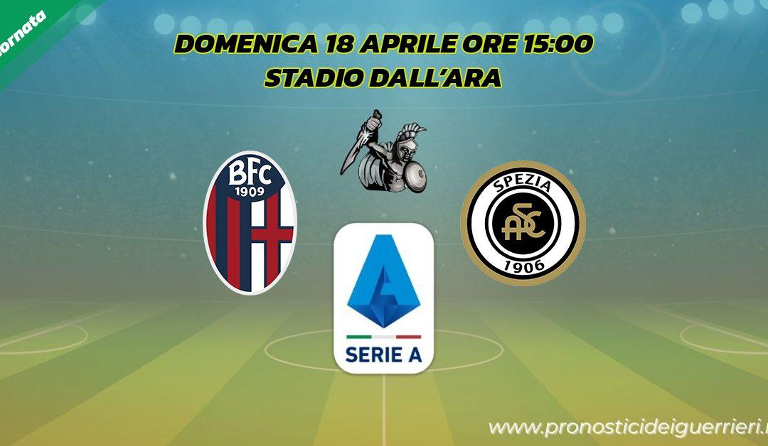 Bologna-Spezia: Pronostico 31^ Giornata Serie A (18 Aprile 2021)