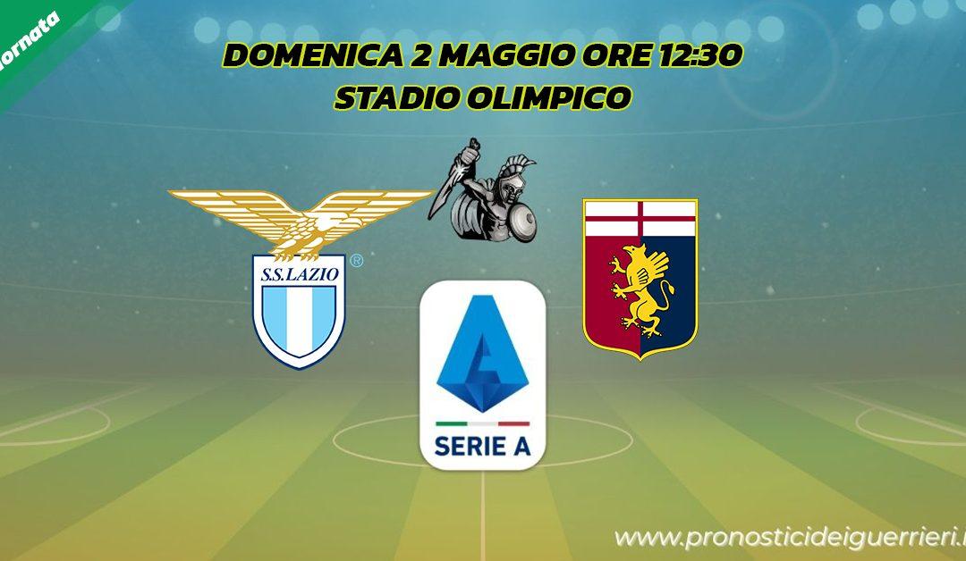 Lazio-Genoa: Pronostico 34^ Giornata Serie A (2 Maggio 2021)
