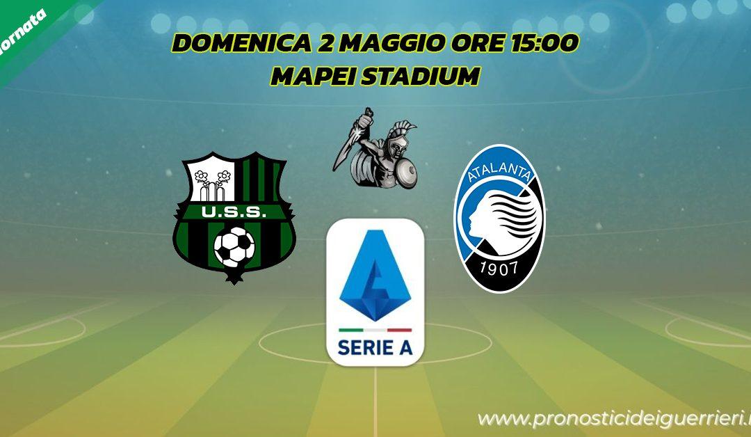 Sassuolo-Atalanta: Pronostico 34^ Giornata Serie A (2 Maggio 2021)