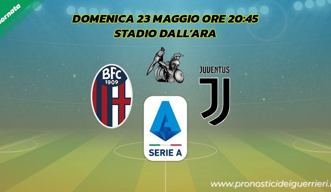 Bologna-Juventus: Pronostico 38^ Giornata Serie A (23 Maggio 2021)
