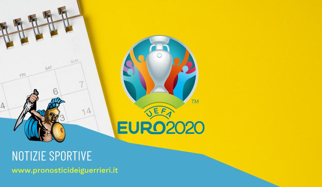 uefa euro 2020 calendario