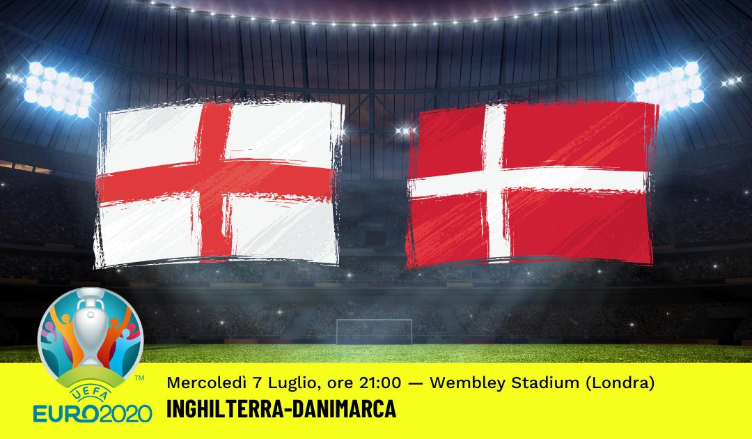 Euro 2020: Pronostico Inghilterra-Danimarca (7 Luglio 2021)