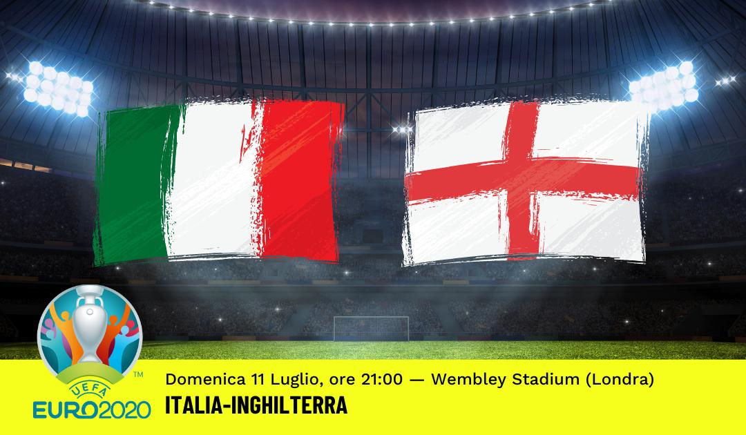 FINALE Euro 2020: Pronostico Italia-Inghilterra (11 Luglio 2021)