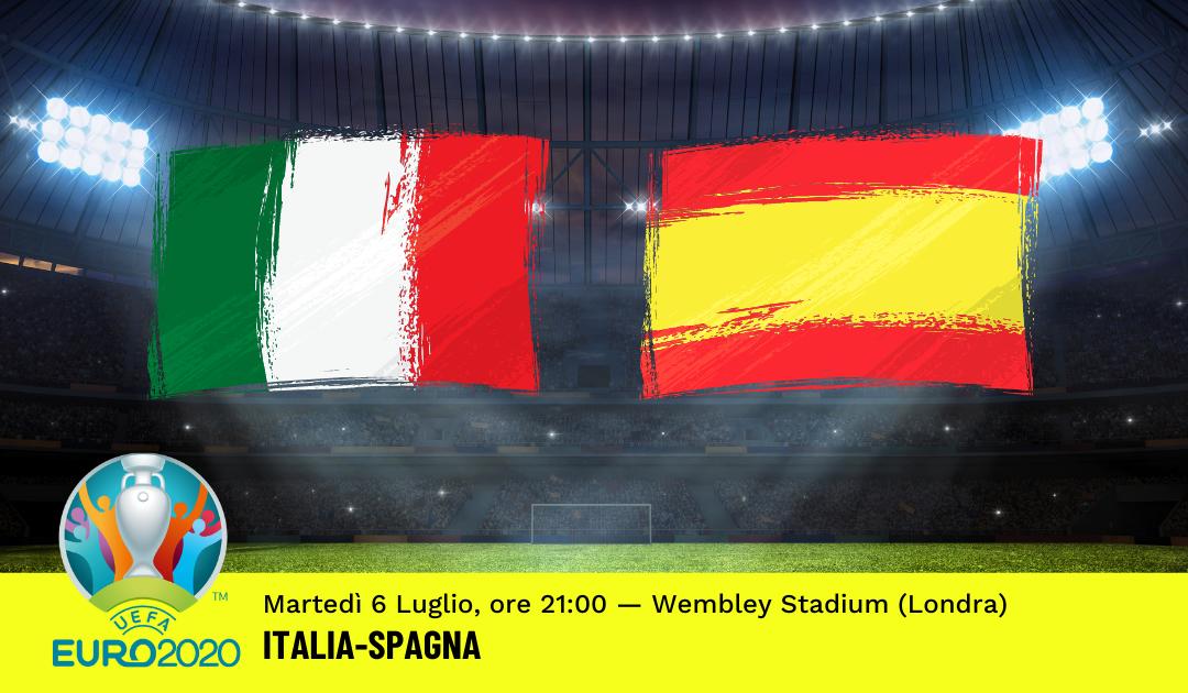 Euro 2020: Pronostico Italia-Spagna (6 Luglio 2021)