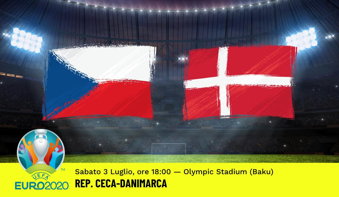 Euro 2020: Pronostico Rep.Ceca-Danimarca (3 Luglio 2021)