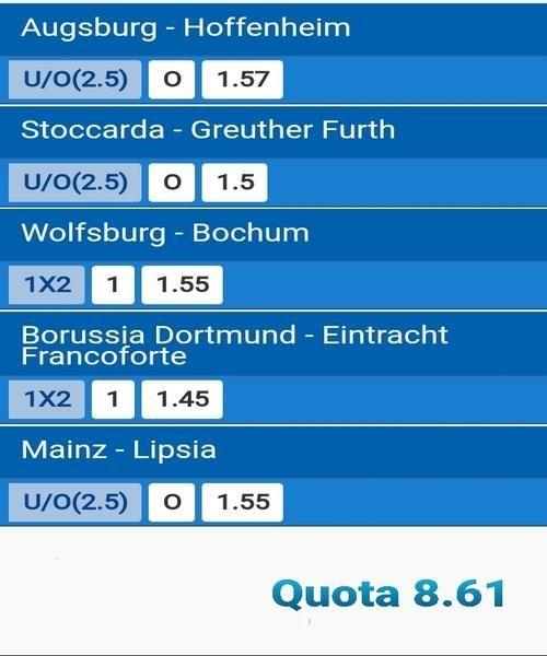 pronostici-bundesliga-1-giornata-multipla-14-15-agosto-2021