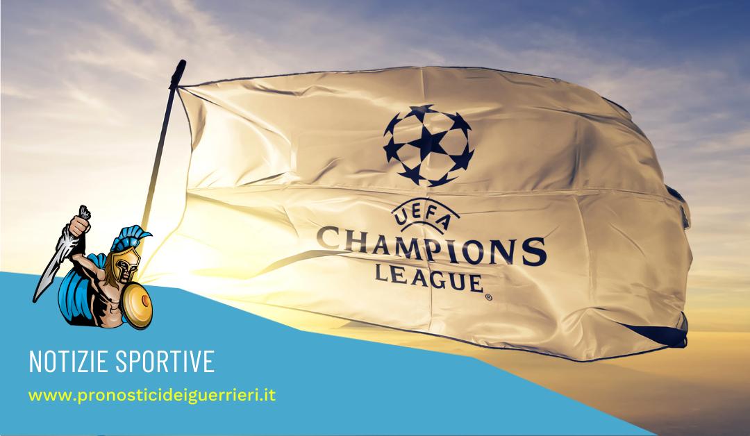 Sorteggi Champions League: ecco i gironi della stagione 2021-22