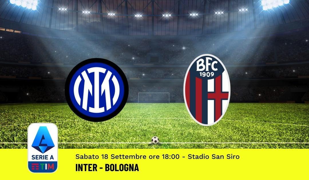 Pronostico Inter-Bologna: 4^ Giornata Serie A (18 Settembre 2021)