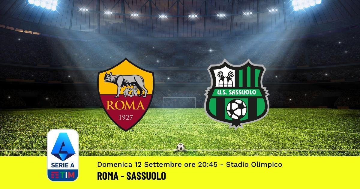 pronostico-roma-sassuolo-3-giornata-serie-a-12-settembre-2021