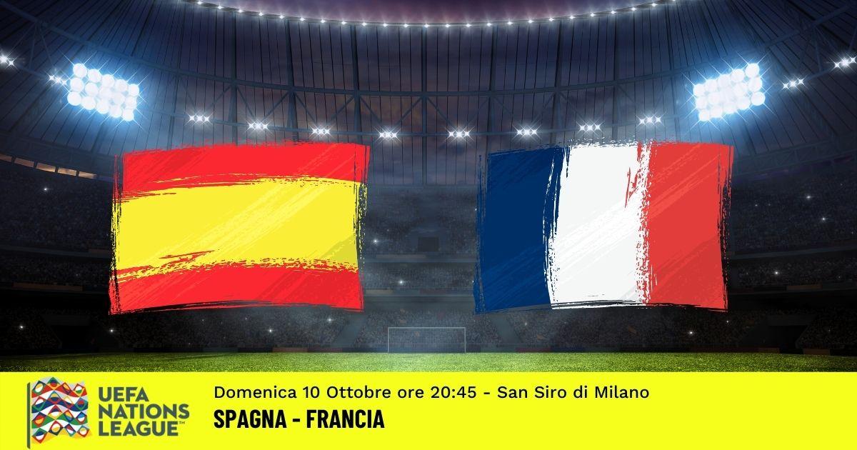 nations League pronostico spagna francia 10 ottobre 2021