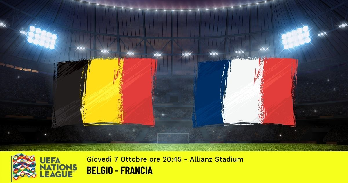 nations League pronostico belgio francia 7 ottobre 2021
