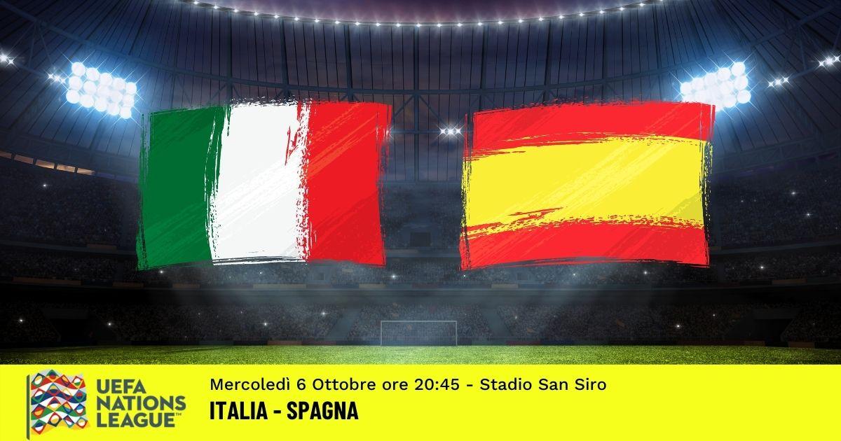 nations League pronostico italia Spagna 6 ottobre 2021